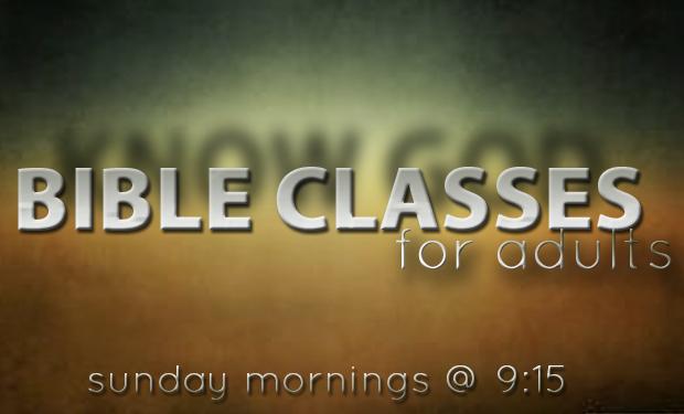 Adult Bible Classes 18