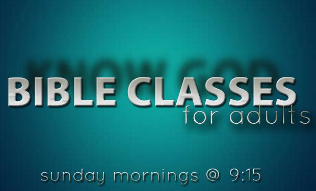Adult Bible Classes 20